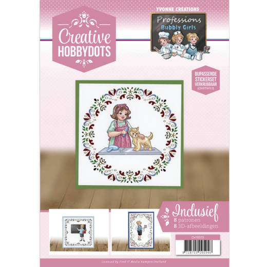 Creative Hobbydots 13 - Yvonne Creations - Bubbly Girls - Professions