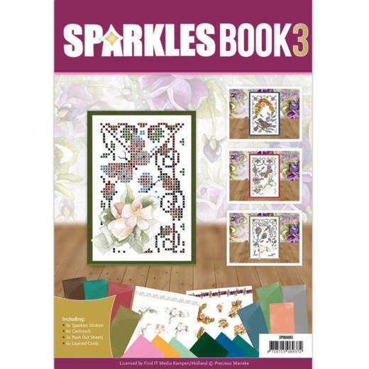 Sparkle Book A6 - 3 - Precious Marieke - Roses