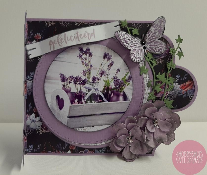 Lavendel Kaart