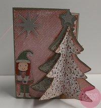 Kerstboom met gnome