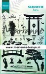 Marianne Design Clear Stamps Silhouette Sakura CS1033