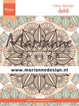 Marianne Design Clear Stamps Mandala Delhi CS1035