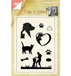 Clearstempel Joy! Crafts Honden en katten 6410/0400