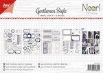 Joy! labelsheets cuttingsheet Gentlemen Style 6011/0420