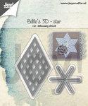 Joy! stencil Bille's 3D-ster 6002/1391