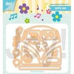 Joy! stencil Jocelijne hippie-bus 6002/1365