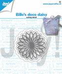 Joy! stencil Bille's deco daisy 6002/1400