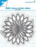 Joy! stencil Bille's deco circles daisy 6002/1401