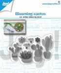 Joy! stencil bloeiende cactussen 6002/1416