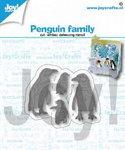 Joy! stencil pinguin familie 6002/1417
