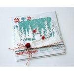Joy! stencil sneeuwpop op slee 6002/1420