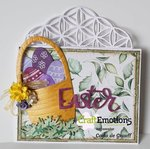 CraftEmotions clearstamps A6 - Easter 1 Carla Creaties