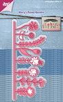 Joy! stencil Mery's bloemenborder 6002/1219