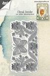Joy! stencil bloemenborder met vlinder 6002/1269