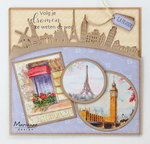 Marianne Design Craftable Around the world Border CR1472