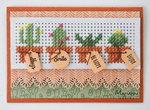 Marianne Design Craftable Cross stitch border CR1473