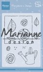 Marianne Design Clear Stamps Marjoleine's roses MZ1901