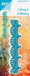 Joy! stencil blauw kantrand 6002/1142