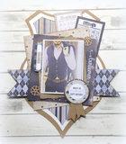 Joy! labelsheets cuttingsheet Gentlemen Style 6011/0420_
