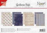 Joy! papierset Gentlemen Style 6011/0636_