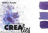 Crealies Pigment Colorzz poeder Paars_