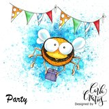 CraftEmotions clearstamps A6 - Party 2 Carla Creaties _
