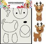Dutch Doobadoo Card Art Rendier A5 _