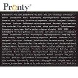 Pronty Stickers A5 Quote black 491.100.011_