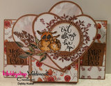 CraftEmotions clearstamps A6 - handletter - Sending you lots of love Carla Kamphuis _