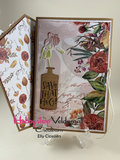 CraftEmotions clearstamps A6 - handletter - Choose to be happy (Eng) Carla Kamphuis_