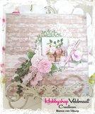 Joy! stencil Noor Design vintage flourishes eucalyptus 6003/0093_