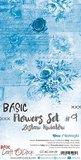 Craft OClock Basic Flowers Set 9, Blue_