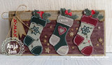 Marianne Design Craftable tiny's christmas socking CR1256_
