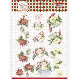 3D Knipvel - Precious Marieke - Warm Christmas Feelings - Christmas Bells