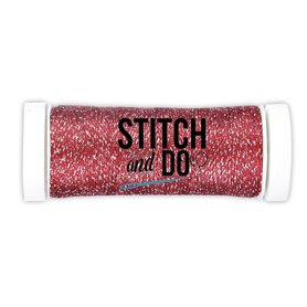 Stitch and Do Sparkles Embroidery Thread Red