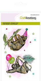 CraftEmotions clearstamps A6 - luiaard