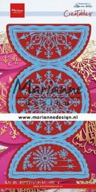 Marianne Design Creatable Anja's Folding Circle XL LR0618