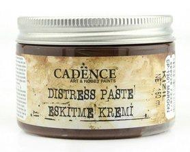 Cadence Distress pasta Maroon - Kastanjebruin 150 ml.