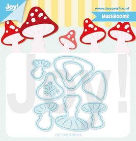Joy! stencil Jocelijne champignons 6002/1397