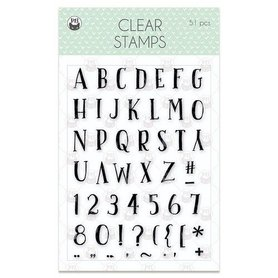 Piatek13 - Clear stamp set We are family 02