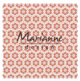 Marianne Design Embossing folder 3D - Japanese star DF3445