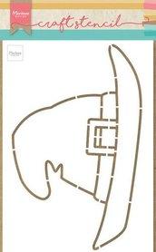 Marianne Design Craft Stencil heksenhoed PS8044