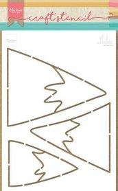 Marianne Design Craft Stencil bergen by Marleen PS8045