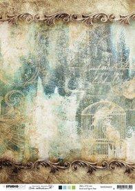 Studio Light Basis A4 Achtergrondpapier Jenine's Mindful nr 03