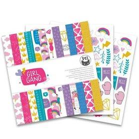 Piatek13 - Paper pad Girl Gang 30,5 x 30,5 cm