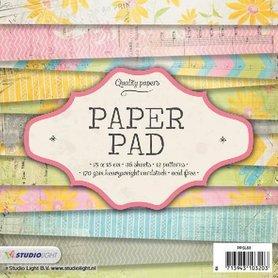 Studio Light Paper pad 36 vel 12 designs nr 68 15x15 cm