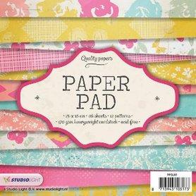 Studio Light Paper pad 36 vel 12 designs nr 65 15x15 cm