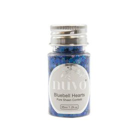Nuvo Pure sheen confetti - bluebell heartss 35ml