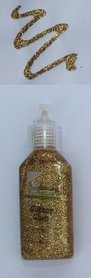 CraftEmotions Glitterlijm goud 20 ml