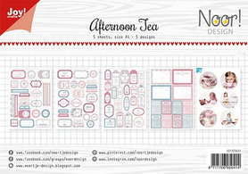 Joy! labelsheets cuttingsheet Afternoon tea 6011/0424